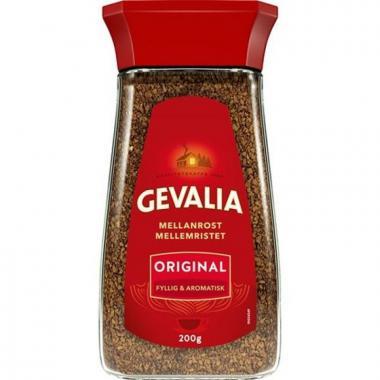 Кофе растворимый GEVALIA ORIGINAL 200гр. ст.банка