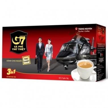 Кофе растворимый 3 в 1 TRUNG NGUYÊN G7, 21п.х 16гр., карт/уп.