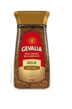 Кофе растворимый GEVALIA ORIGINAL 100гр. ст.банка