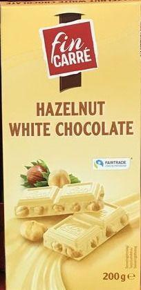 Белый шоколад Fin Carre (с лесным орехом) 200гр.