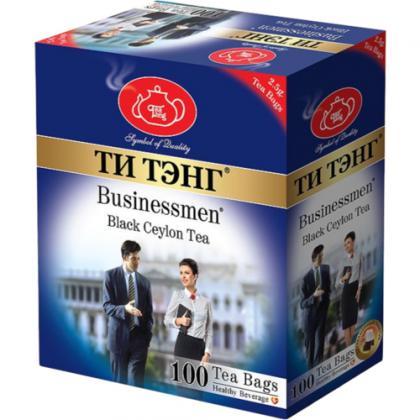 """Чай черный """"Ти Тэнг Для Бизнесменов"""" пакетированный 100х2,5гр"""