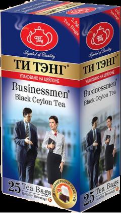 """Чай черный """"Ти Тэнг Для Бизнесменов"""" пакетированный 25х2,5гр"""