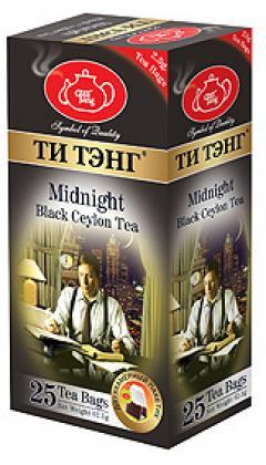 """Чай черный """"Ти Тэнг Для Полуночников"""" пакетированный 25х2,5гр"""