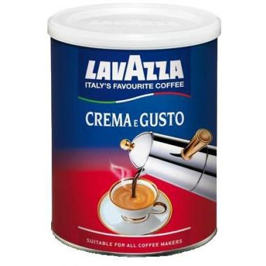 """Кофе молотый LAVAZZA """"Crema e Gusto"""" (Крема Густо) 250 гр. ж/банка"""