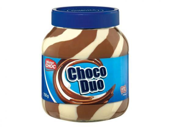 сладкая паста Mister Choc Choco Duo 750 гр.